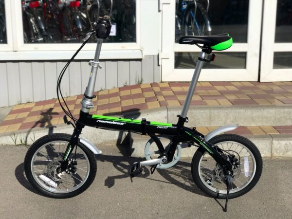 """Велосипед 16"""" Nameless  мод. Z1602 цвет черный"""