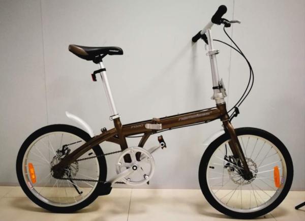 """Велосипед 20"""" Nameless  мод. F020D цвет Коричневый"""