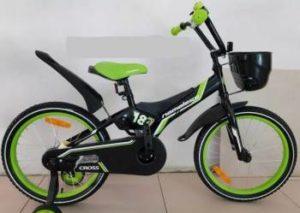 """Велосипед 18"""" Nameless  мод. CROSS цвет черный/зеленый"""