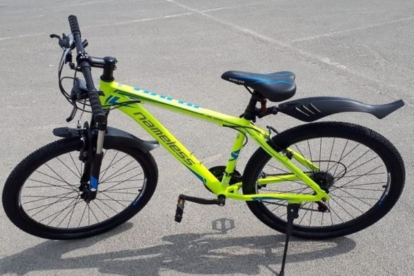 "Велосипед 26"" Nameless  мод. J6100 цвет желтый/Голубой р.17"