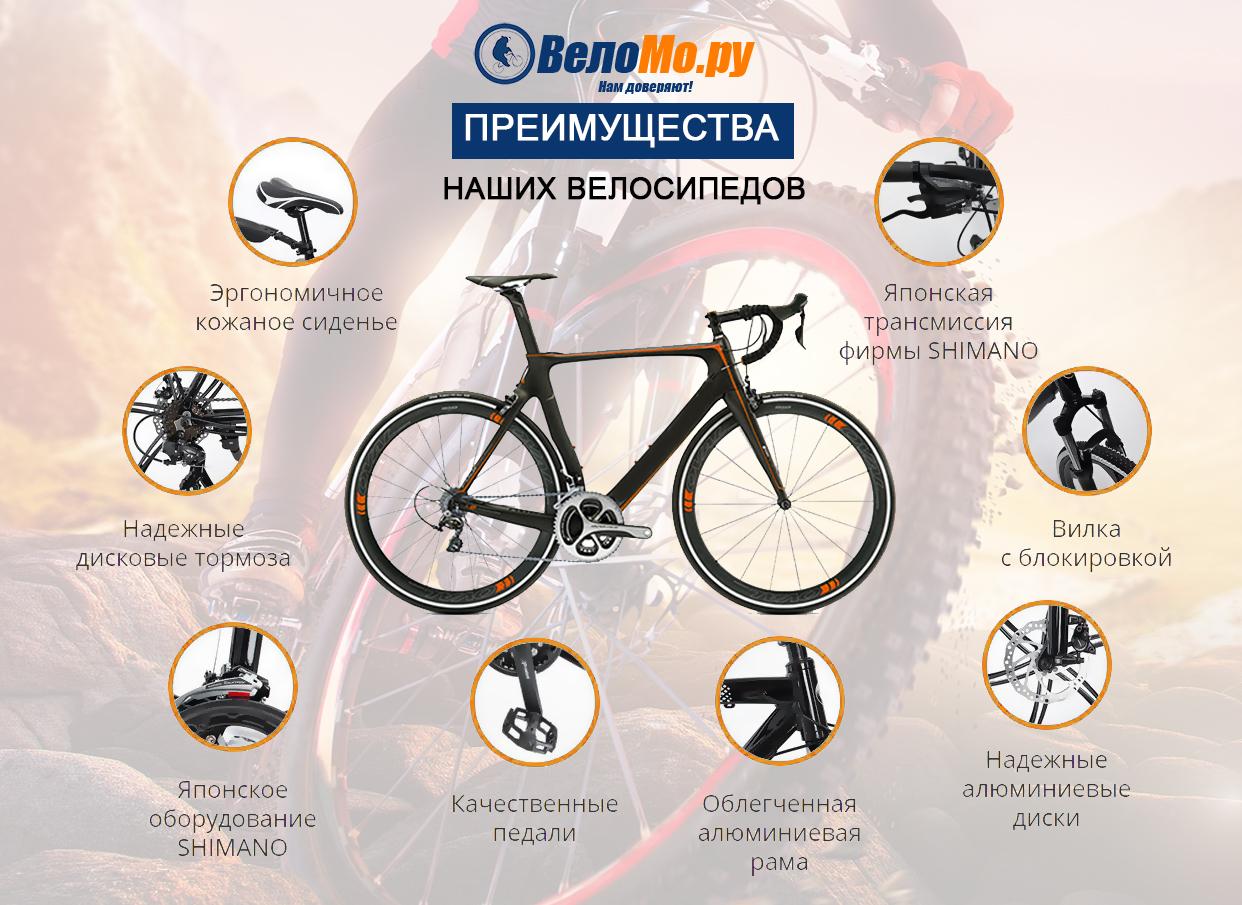 велосипеды c доставкой по всей Росcии